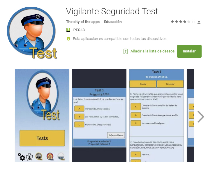 Una App Para Prepararte El Curso De Vigilante De Seguridad Privada Formedia Formacion