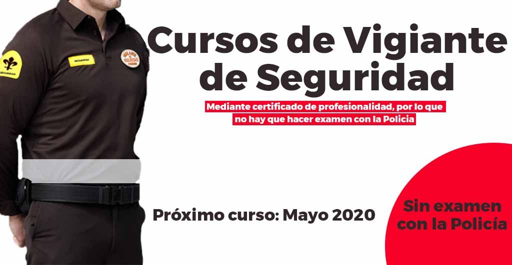 Cursos de Vigilante de Seguridad en Almería